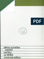 Alfred Schnittke - Septett