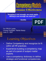 For Performance Effectiveness