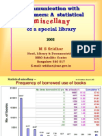 A statistical miscellany of a special library
