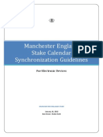 manchester england stake calendar synchronization guildelines for electronic devices