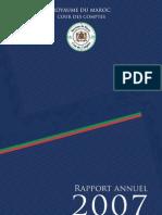 Rapport 2007 de la Cour Marocaine des Comptes