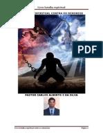 Livro Batalha Espiritual Contra Os Demônios - Pastor Carlos Alberto C. Da Silva