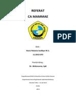 Cover Referat CA Mammae