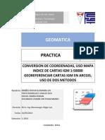 Practica 4 Geomatica