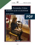Fernandez Cubas Cristina - Todos Los Cuentos