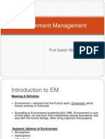 Environment Managment