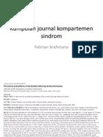 Kumpulan Journal Kompartemen Sindrom