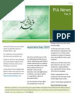 Pakistanis in Australia Vol 5 Issue 1