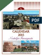 2015 Calendar - Nostalgic Famagusta (English)