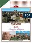 2015 Calendar - Nostalgic Famagusta (Turkish)