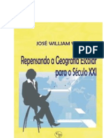 José William Vesentini Repensando a Geografia Escolar