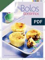 Livro Receitas-bolos e Bolinhos