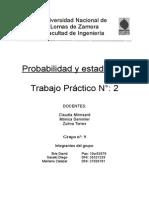 TP2 Prob y Est. Grupo 9