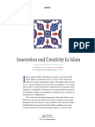 Innovation and Creativity in Islam