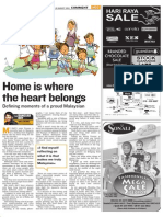 The Bangsar Boy - Home is where the heart belongs
