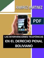 Libro Intervenciones Telefonicas
