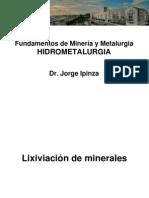 Fundamentos de Hidrometalurgia