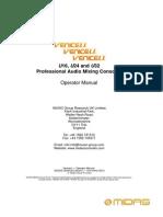 VeniceU Operator's Manual OM En