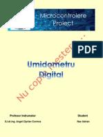 Proiect Microprocesoare Adrian Nae Grupa 8316