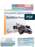 Solid Works Report
