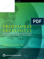 Profesores excelentes. ¿Cómo mejorar el aprendizaje en América Latina y el Caribe?