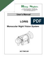 LORIS Manual