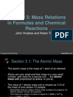 ch-03 mass relations in formulas and chemical reactions 1
