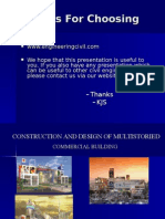 Cep-construction and Design of Multistorey Complex by Gobind Khurana