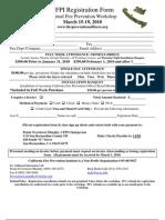 2010 California Fire Prev Instit. Sign-Up Info