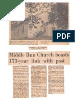 Middle Run Baptist Church