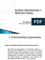 Criminalidad Organizada y Proceso Penal. Octubre