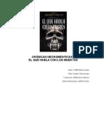 Brian Lumley - Crónicas Necrománticas 1 - El Que Habla Con Los Muertos