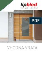 lipbled - VHODNA VRATA