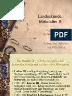 2. Mittelalter 2