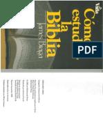 Libro como estudiar la biblia de J. Braga