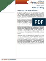 IDirect MetalsMining SectorUpdate Sept2014