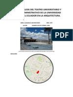 Trabajo Edificio Administrativo y Teatro Universitario