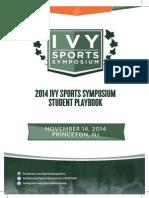2014 Ivy Sports Symposium Student Playbook