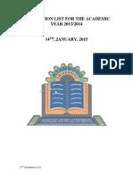 Kyambogo university 11th Graduation List 2015