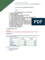 Probleme Propuse La Statistica MTC 2013