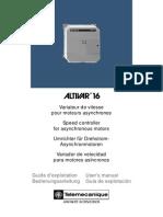 Variador de Frecuencia Altivar 16 Español