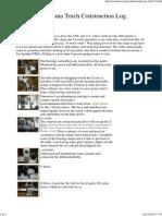 CNC Plasma Torch Construction