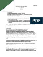 1. Clases Psicopatología Adulto Prueba 1
