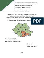 dezvoltarea teritoriala