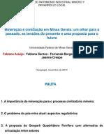 JORNADAS DE PATRIMONIO INDUSTRIAL MINERO Y DESARROLLO LOCAL