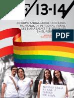 Informe anual sobre derechos humanos.