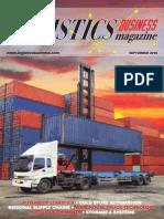 Logistics Business Magazine September 2014