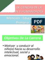 Carrera de Ciencias de La Educación y Humanidades