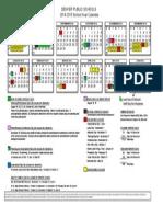 dps school calendar 2014 2015