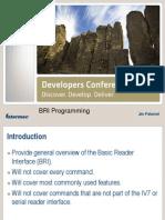 BRI Programming